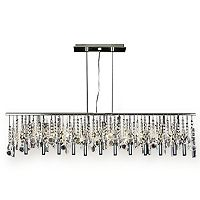 Gallery Modern Contemporary 11-Light Crystal Chandelier