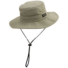 Big-Brim Supplex Safari Hat - Men