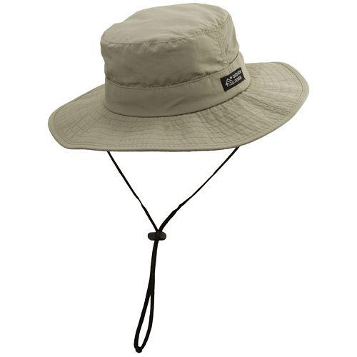 Big-Brim Supplex Safari Hat - Men