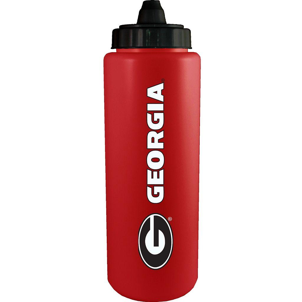 Georgia Bulldogs Squeeze Water Bottle