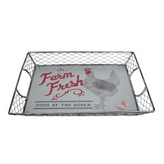 SONOMA Goods for Life™ Homestead Galvanized Serving Tray
