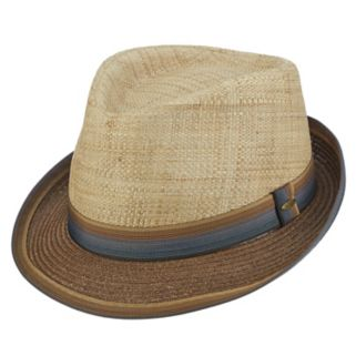 Men's Scala Classico Paper Braided Fedora