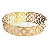 Allure by Jay 16 in Quatrefoil Serving Tray