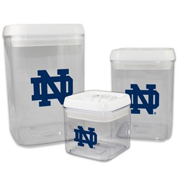 Notre Dame Fighting Irish 3-Piece Storage Container Set