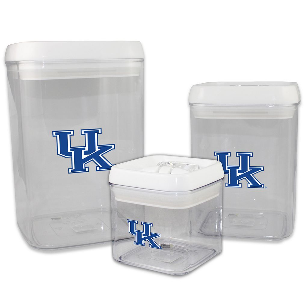 Kentucky Wildcats 3-Piece Storage Container Set