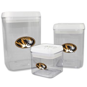 Missouri Tigers 3-Piece Storage Container Set
