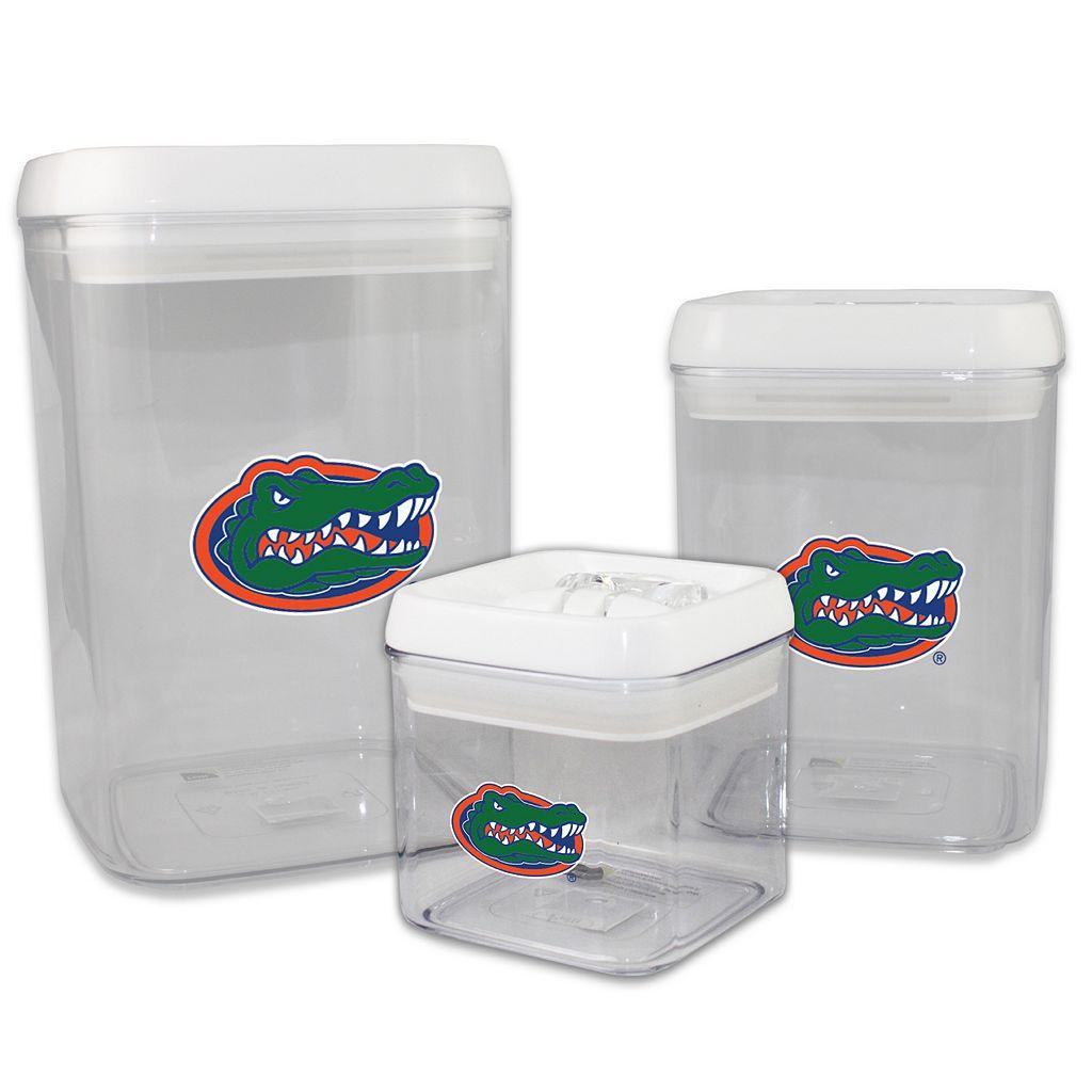 Florida Gators 3-Piece Storage Container Set