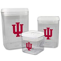 Indiana Hoosiers 3-Piece Storage Container Set
