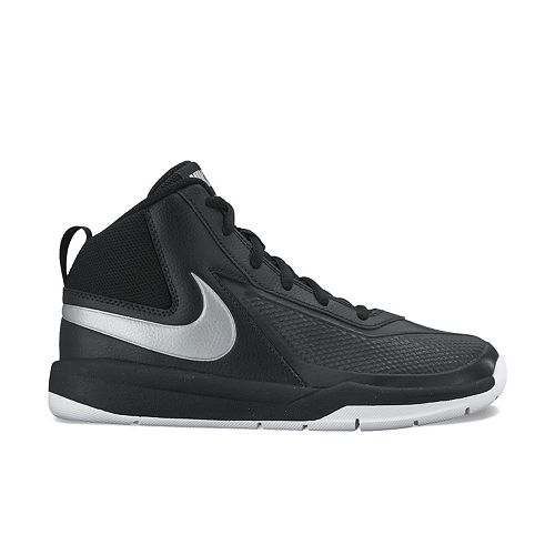 5135b9f2b9c Nike Team Hustle D7 Grade School Kids  Basketball Shoes