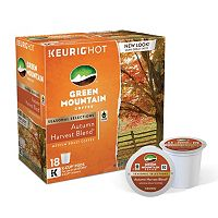 Keurig® K-Cup® Pod Green Mountain Coffee Autumn Harvest Blend Medium Roast Coffee - 18-pk.