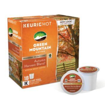 Keurig® K-Cup® Pod Green Mountain Coffee Autumn Harvest Blend Medium Roast Coffee - 18-pk.