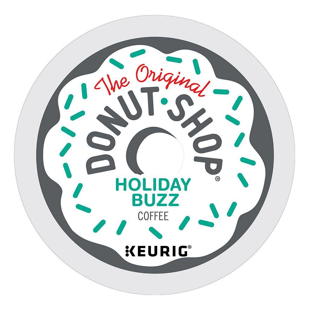 Keurig® K-Cup® Pod The Original Donut Shop Coffee Holiday Buzz Medium Roast Coffee - 18-pk.