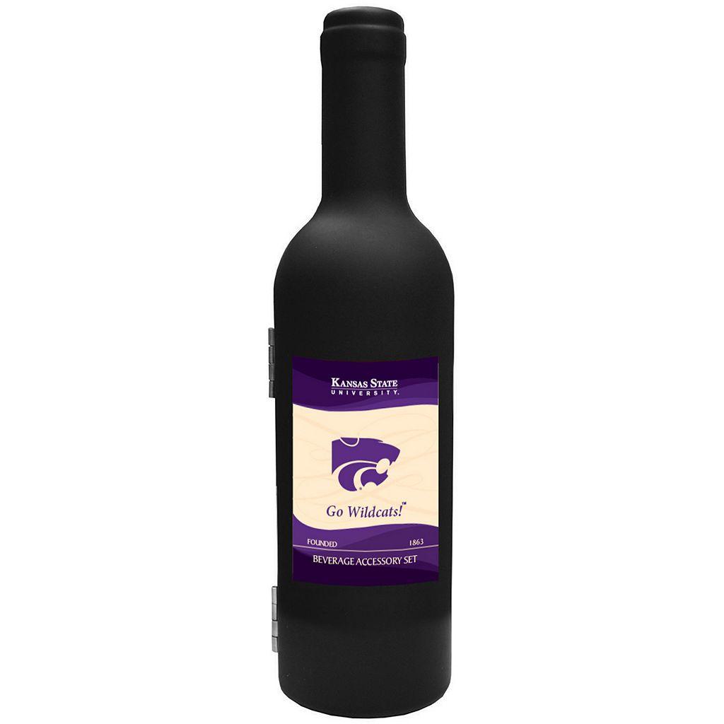 Kansas State Wildcats 3-Piece Wine Bottle Accessory Kit