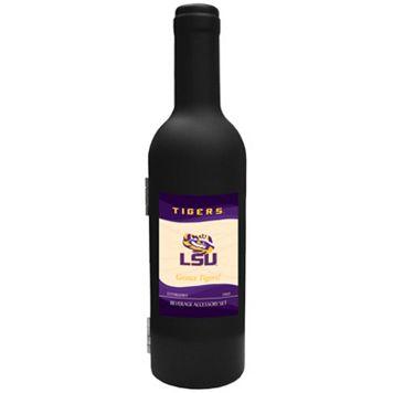 LSU Tigers 3-Piece Wine Bottle Accessory Kit