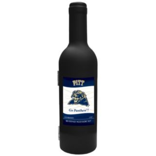 Pitt Panthers 3-Piece Wine Bottle Accessory Kit