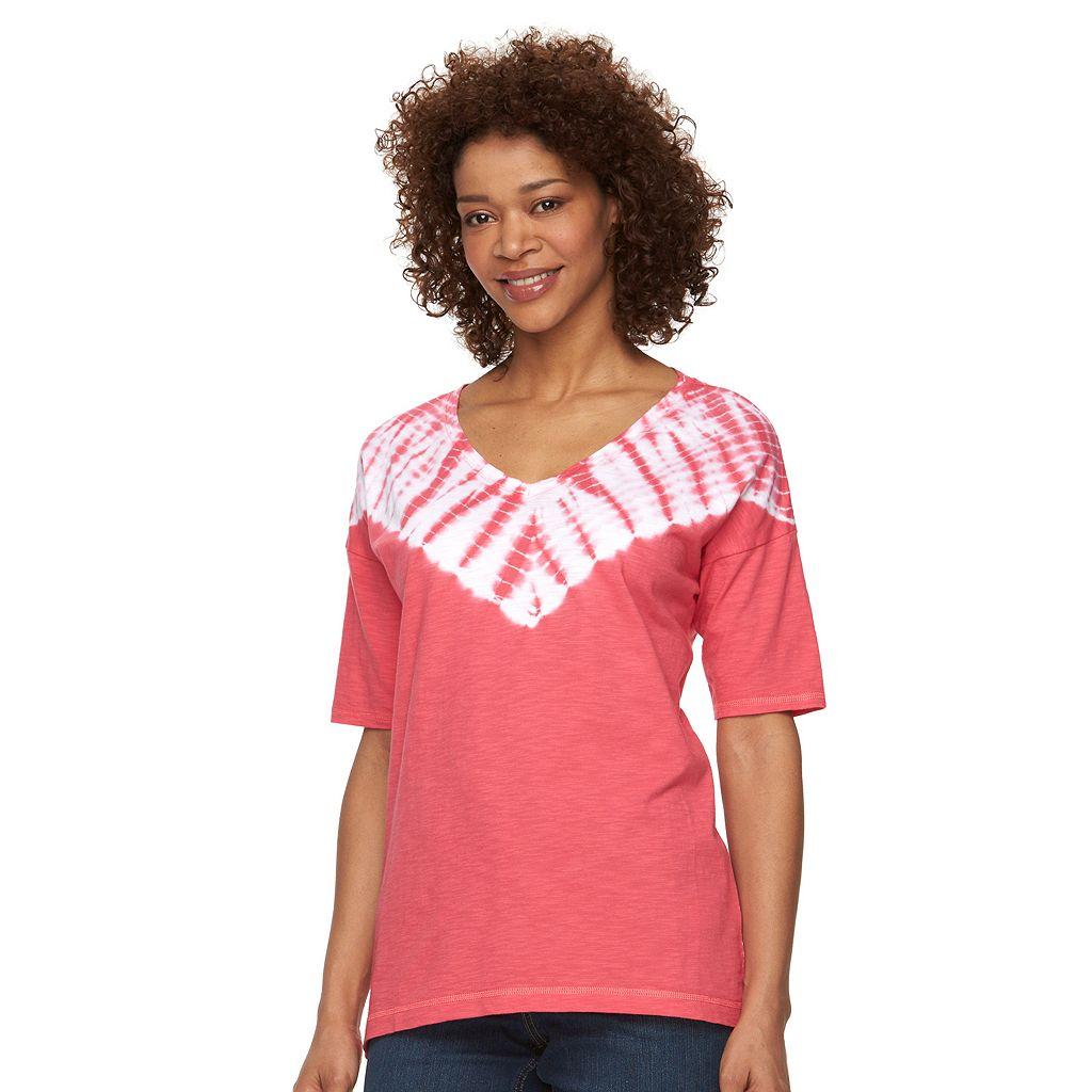 Women's Columbia Daisy Fields Tie-Dye V-Neck Tee