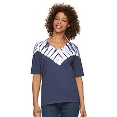 Women's Columbia Daisy Fields Tie-Dye V-Neck Tee