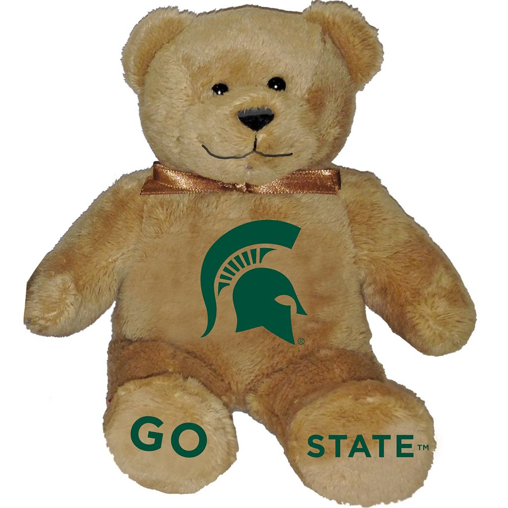 Michigan State Spartans Musical Teddy Bear