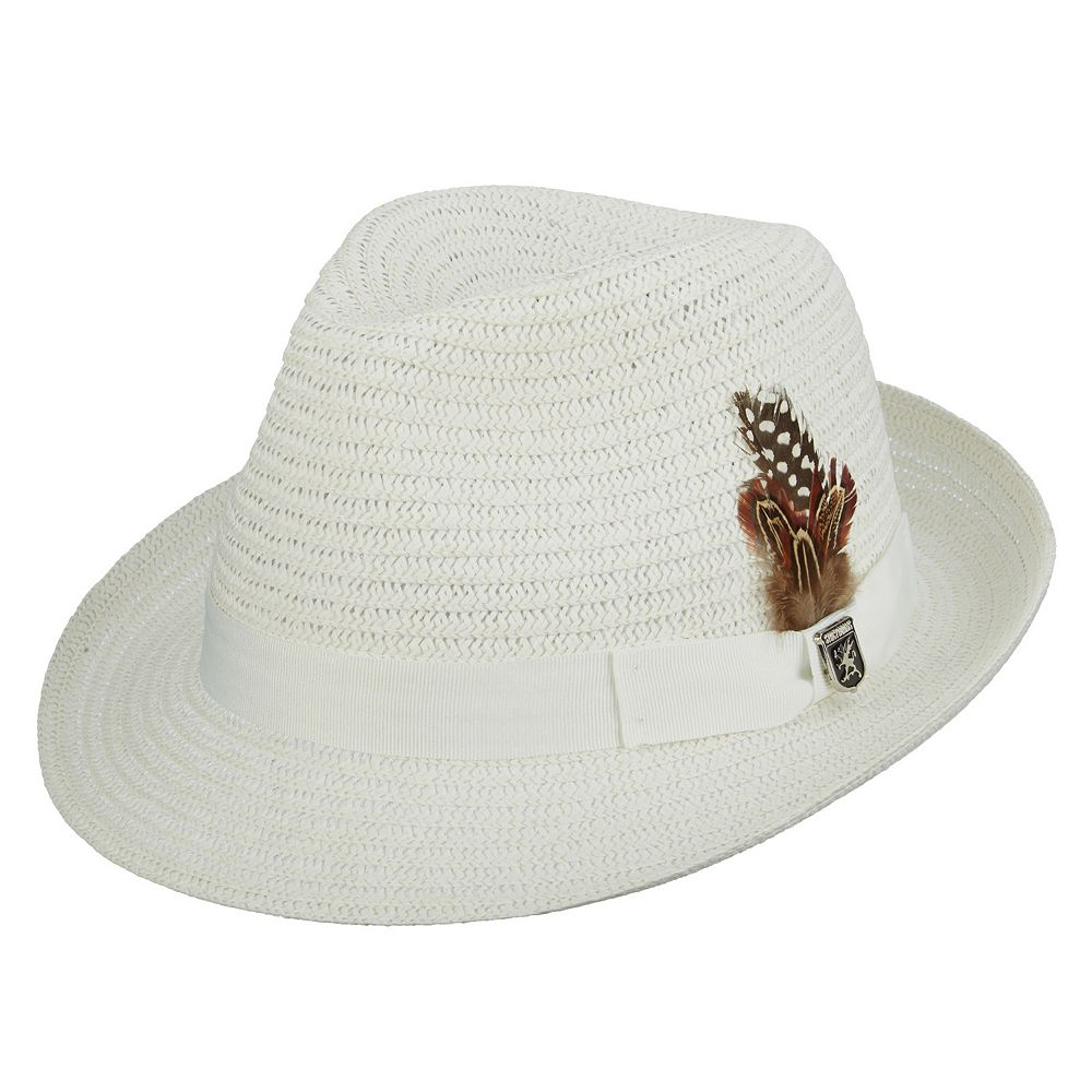 b7b3908e54a Men s Stacy Adams Paper Braided Fedora