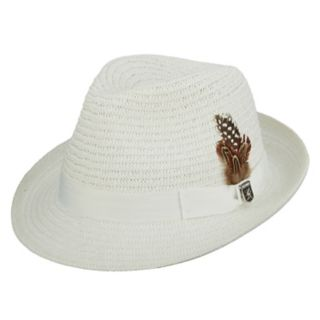 Men's Stacy Adams Paper Braided Fedora