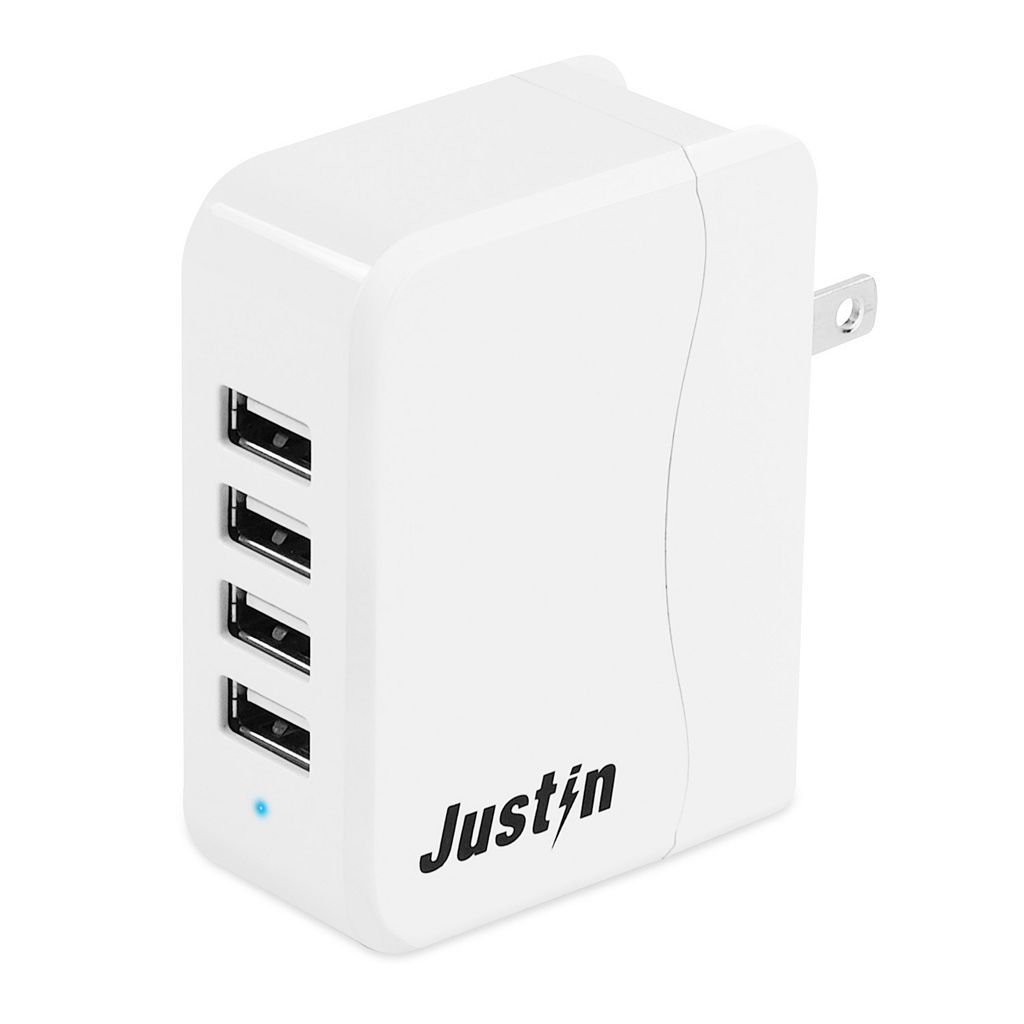 Innovative Technology Justin Portable 4-Port USB Power Hub