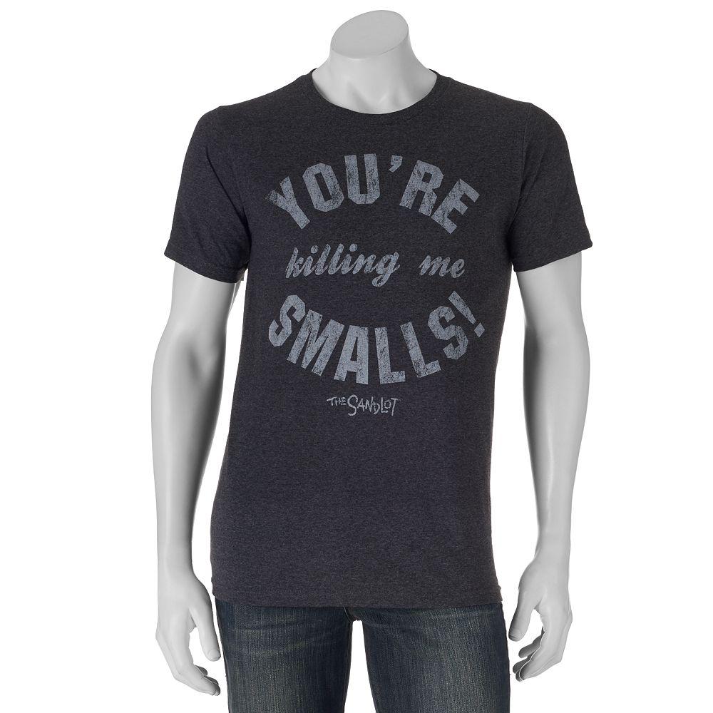 Black t shirts kohls - The Sandlot Killing Me Smalls Tee Men