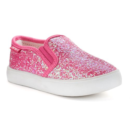 ec433203a11a Carter s Tween 2 Toddler Girls  Glitter Casual Slip-On Shoes