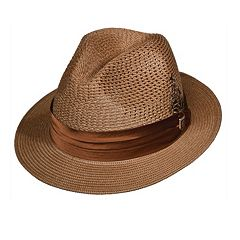 Stacy Adams Milan Pinch-Front Fedora - Men