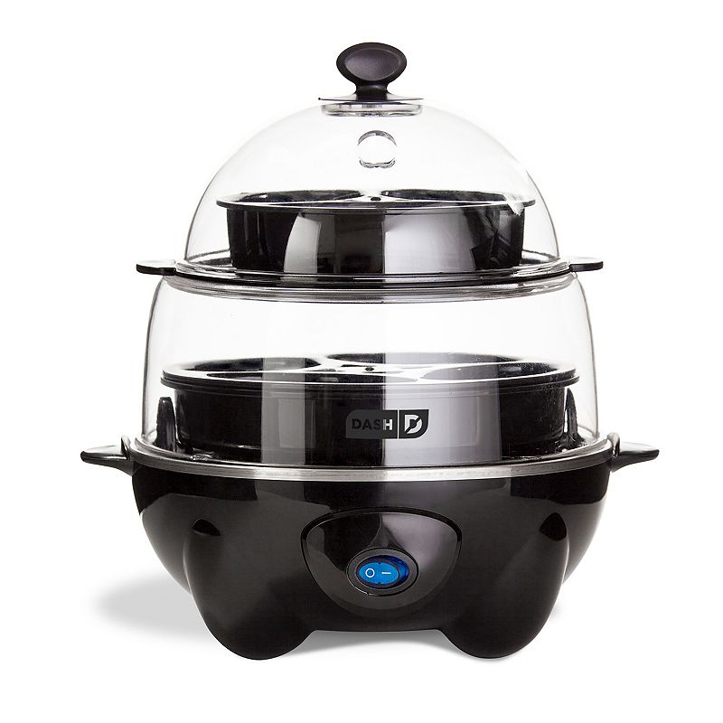 Dash Deluxe Egg Cooker, Black