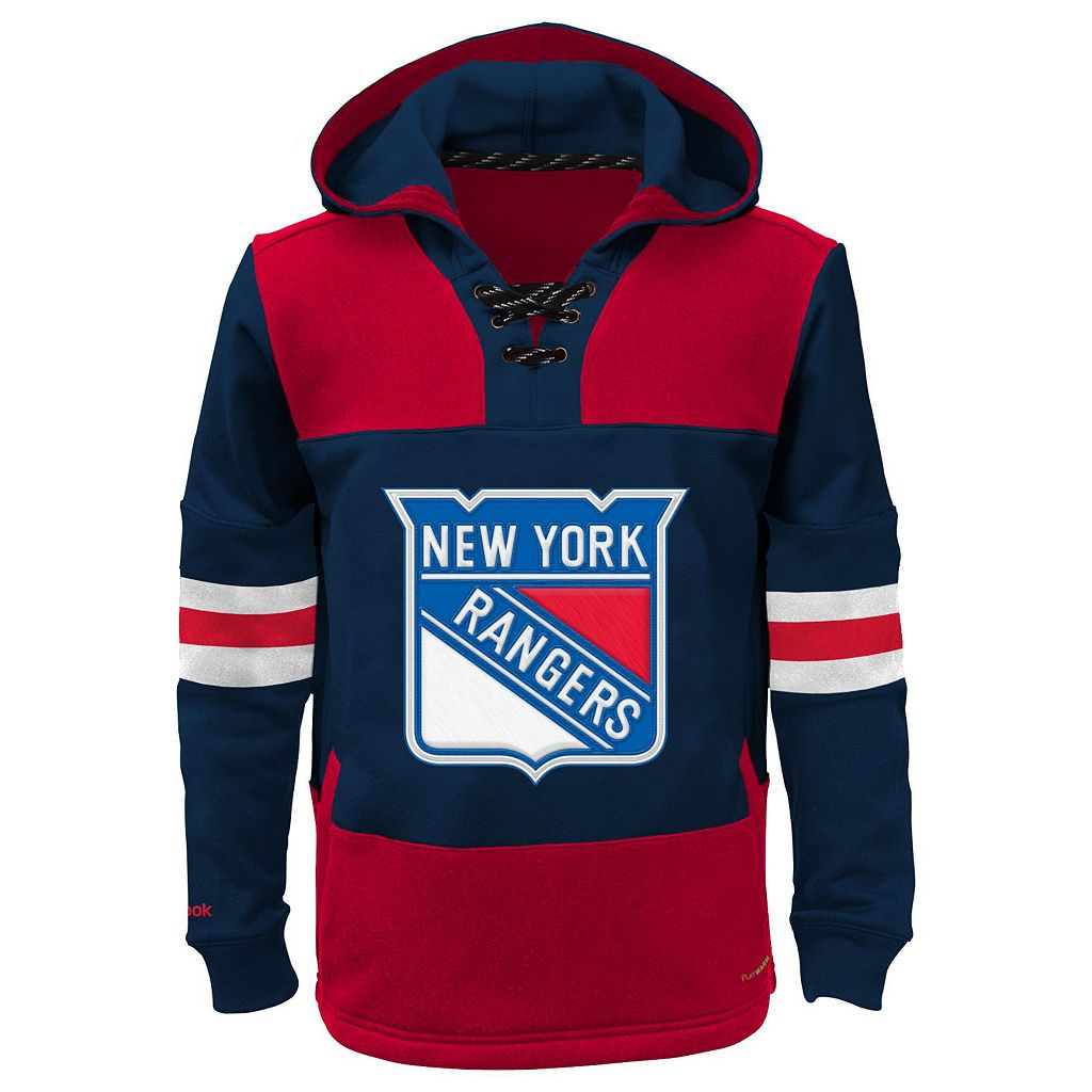 Boys 8-20 Reebok New York Rangers Offside Fleece Hoodie