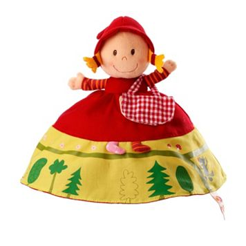Reversible Red Riding Hood Plush Story Telling Toy by Lilliputiens