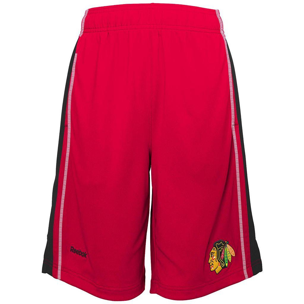 Boys 8-20 Reebok Chicago Blackhawks Rookie Shorts