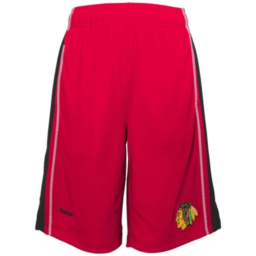 Boys 8-20 Reebok Chicago Blackhawks Rookie Shorts