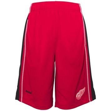 Boys 8-20 Reebok Detroit Red Wings Rookie Shorts