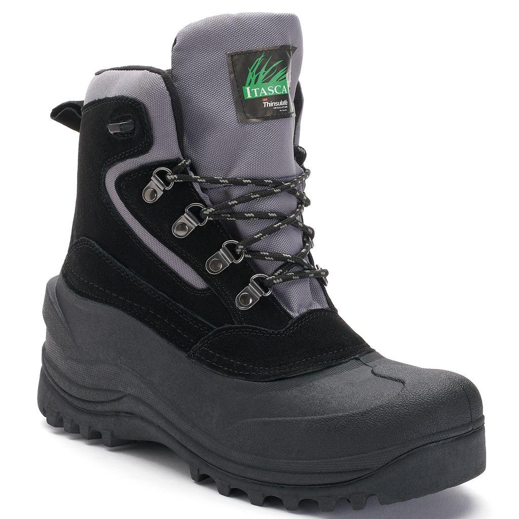 Itasca Lutsen Mens' Waterproof Winter Boots