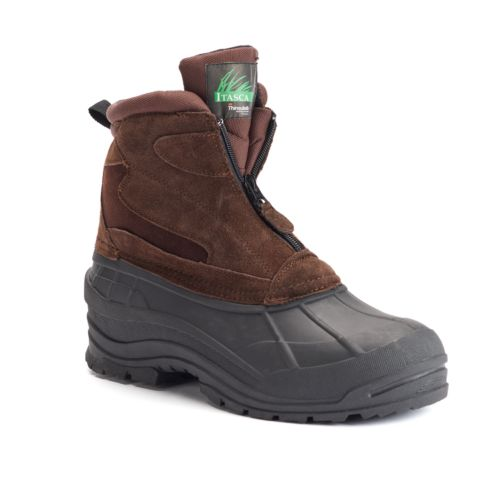 Itasca Traverse Men's ... Front-Zip Waterproof Boots