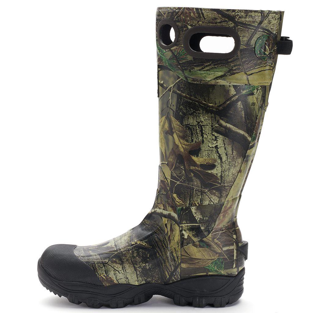 Itasca Swampwalker Real Tree Camouflage Men's Knee-High Waterproof Boots