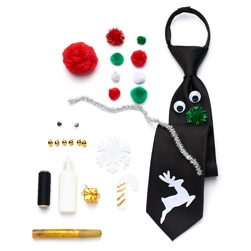 Make Your Own Ugly Christmas Tie Kit - Men