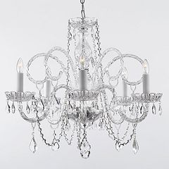 Gallery Venetian Style Scroll 5-Light Chandelier