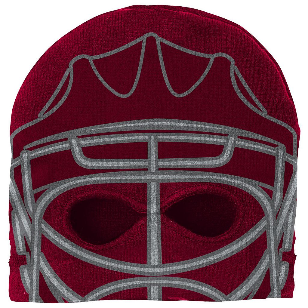 Youth Reebok Colorado Avalanche Mask Knit Cap