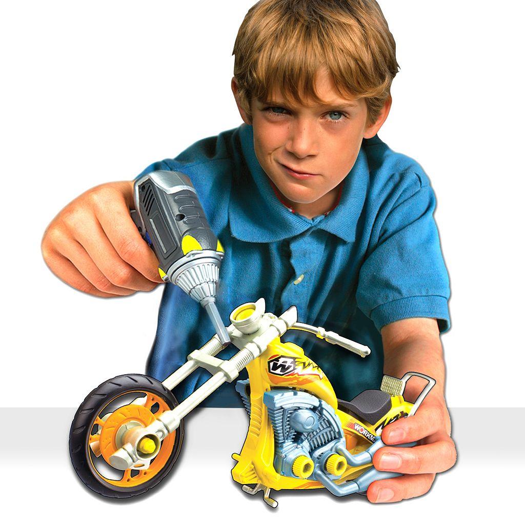 Workman Build Your Own Moto Chopper Kit by Lanard