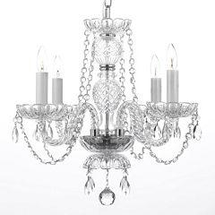 Gallery Venetian Style 4-Light Chandelier