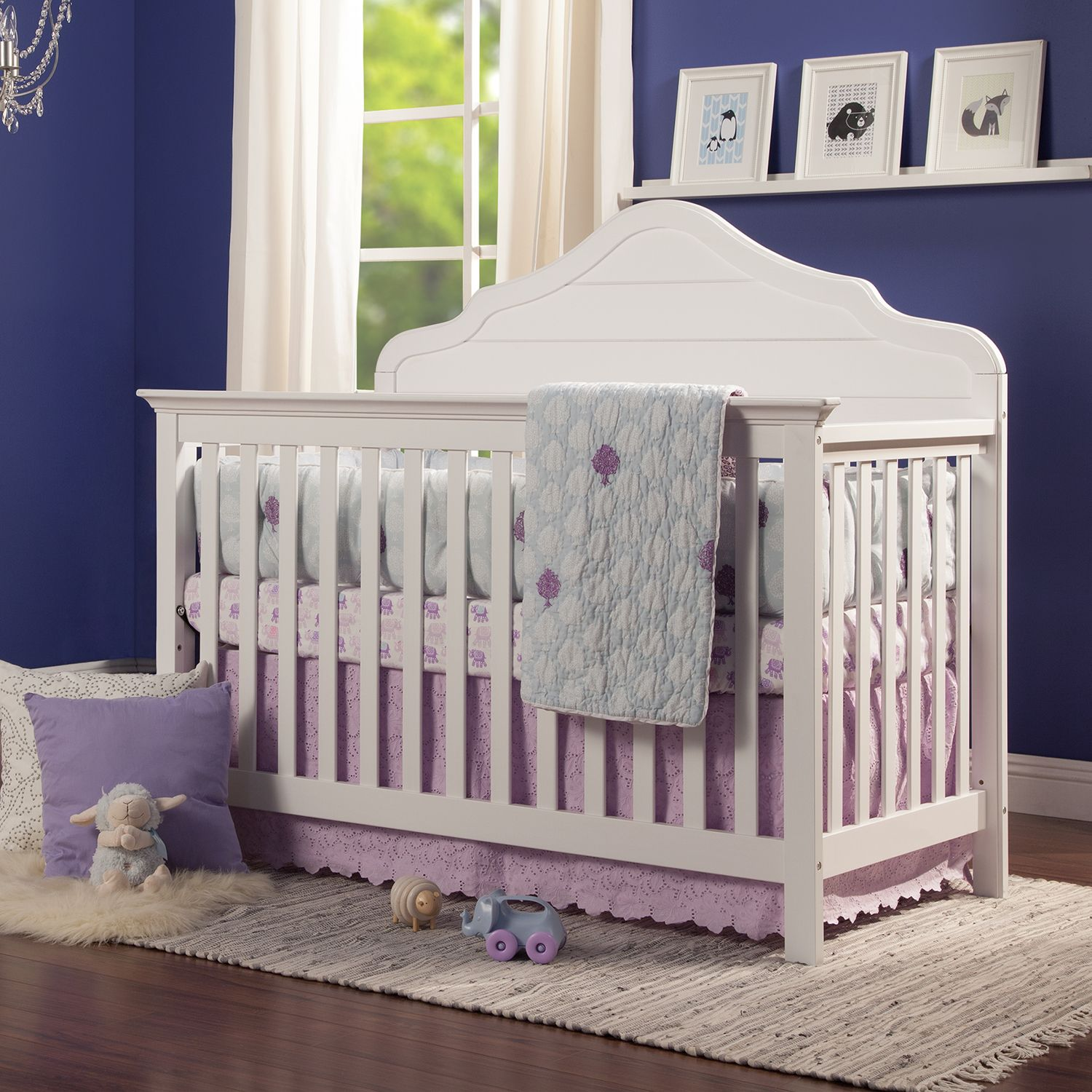 davinci flora 4in1 convertible crib