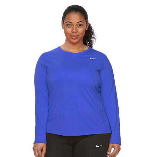 16cb9f6512f Plus Size Nike EXT Miler Dri-FIT Running Tee