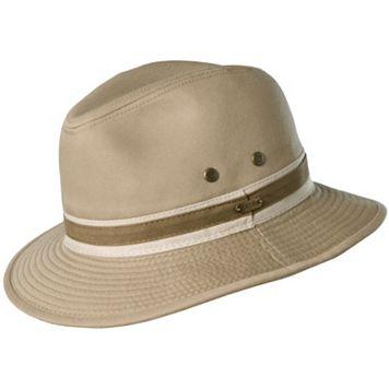 Stetson Durango Garment-Washed Twill Safari Hat - Men