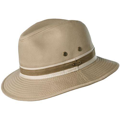 1d814a4ef09791 Stetson Durango Garment-Washed Twill Safari Hat - Men
