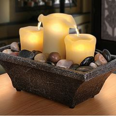 Click here to buy Apothecary 3-Candle LED Fountain.