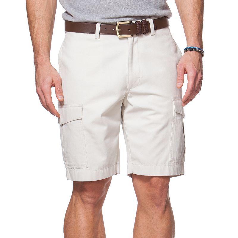Men's Chaps Canvas Cargo Shorts