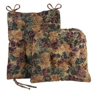 The Gripper 2-pc. Cabernet Universal Rocking Chair Pad Set