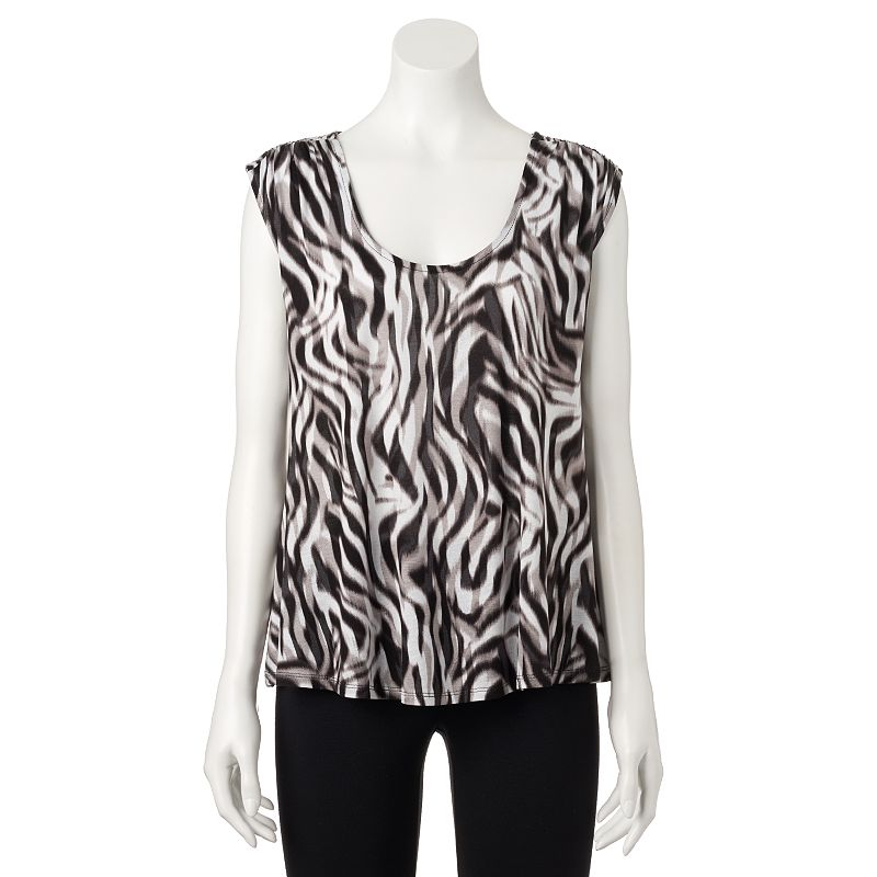 Women's Jennifer Lopez Print Swing Tank